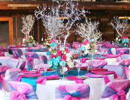 pink-theme-of-birthday-party-table-setting